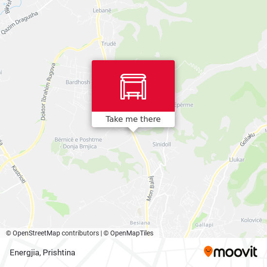Energjia map