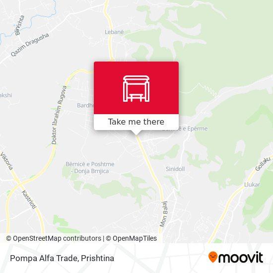 Pompa Alfa Trade map
