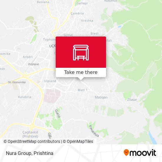 Nura Group map