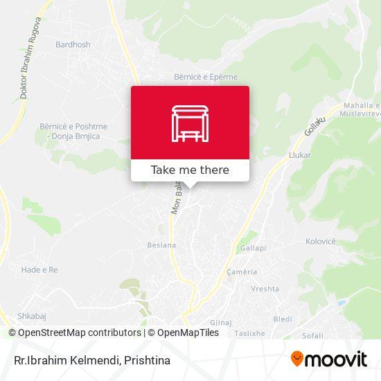 Rr.Ibrahim Kelmendi map