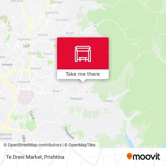 Te Dreni Market map