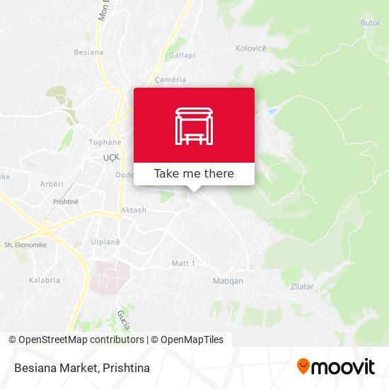 Besiana Market map