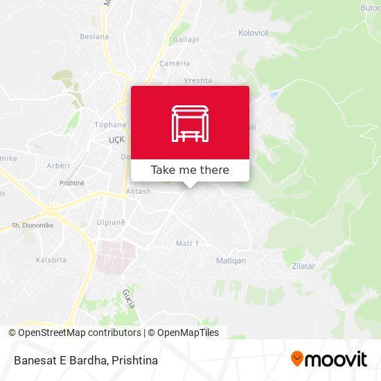 Banesat E Bardha map