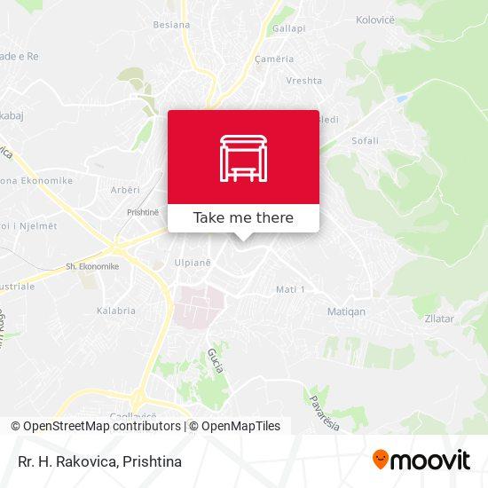 Rr. H. Rakovica map