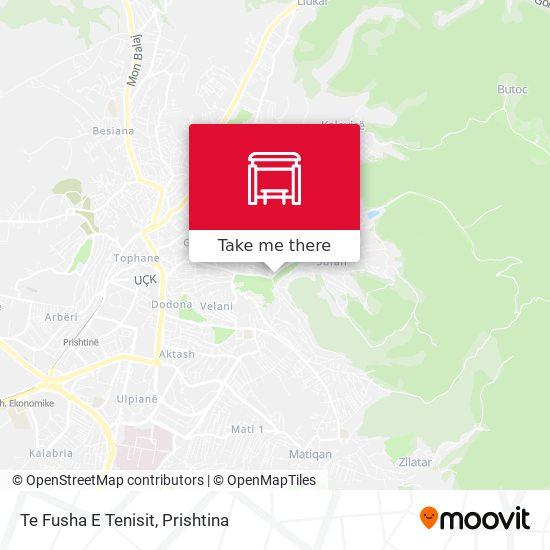 Te Fusha E Tenisit map
