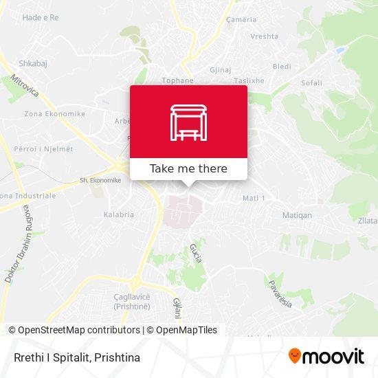 Rrethi I Spitalit map