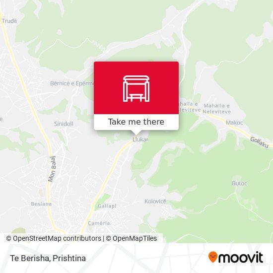 Te Berisha map