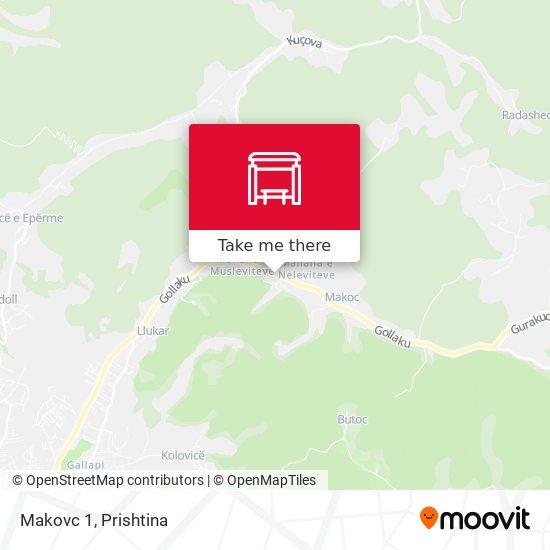 Makovc 1 map