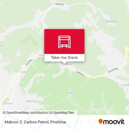 Makovc 2. Carbon Petrol map