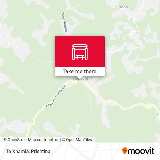 Te Xhamia map