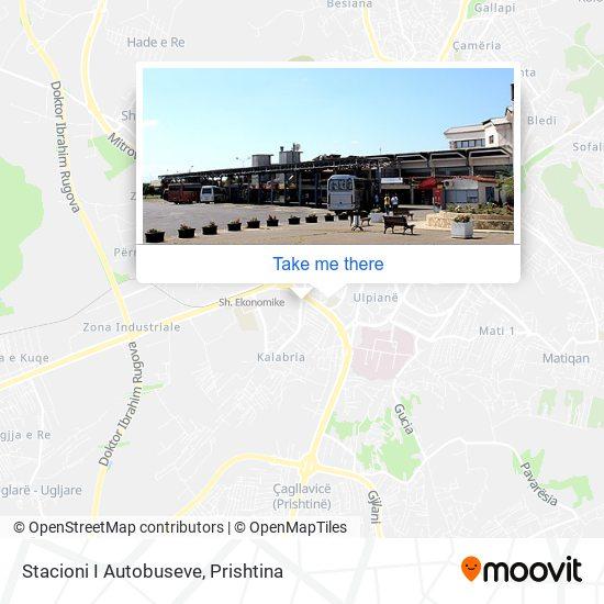Stacioni I Autobuseve map