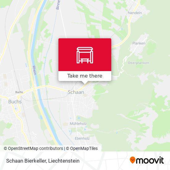 Schaan Bierkeller map