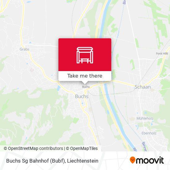 Buchs Sg Bahnhof (Bubf) map