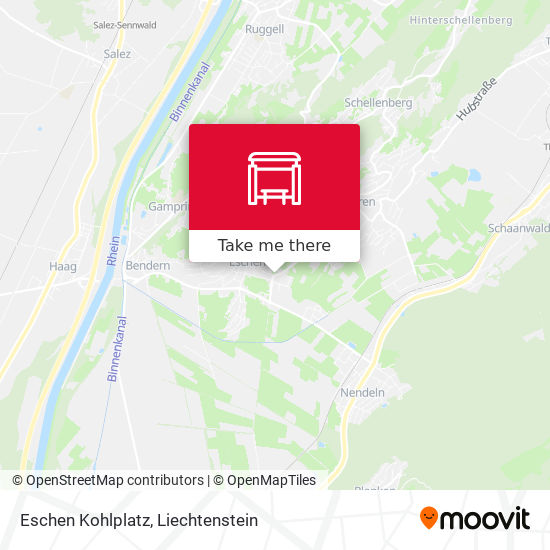 Eschen Kohlplatz map