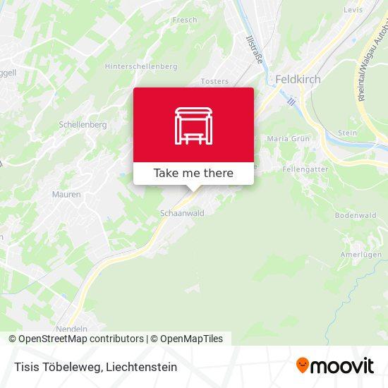 Tisis Töbeleweg map