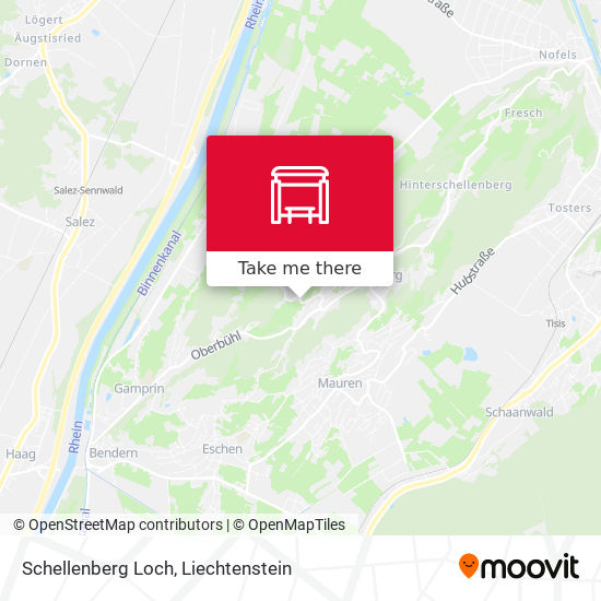 Schellenberg Loch map