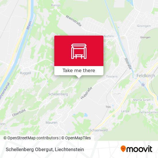 Schellenberg Obergut map