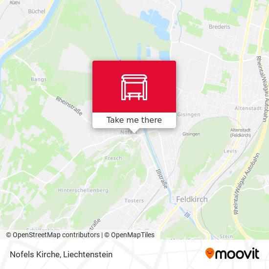 Nofels Kirche map
