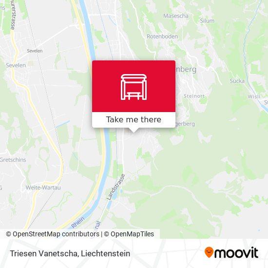 Triesen Vanetscha map