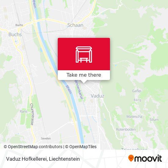 Vaduz Hofkellerei map