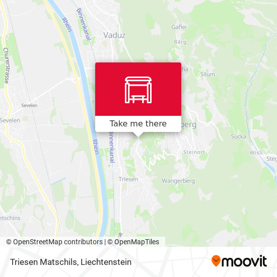 Triesen Matschils map