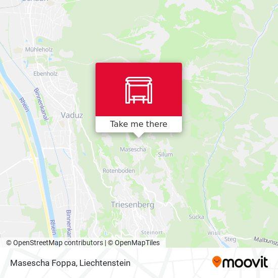 Masescha Foppa map