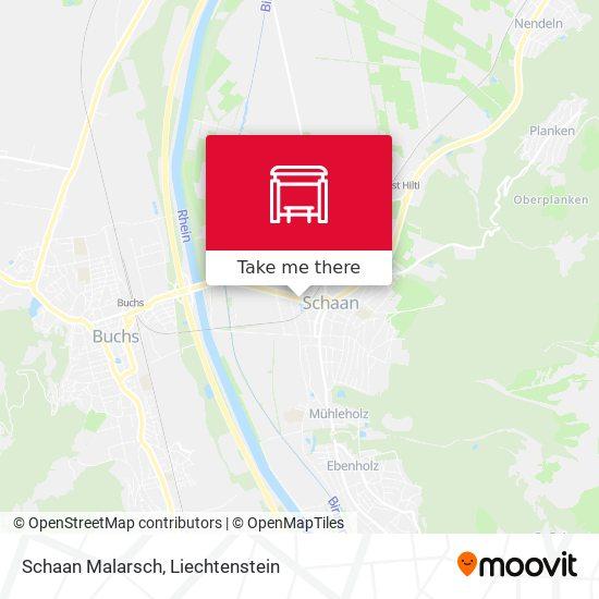 Schaan Malarsch map