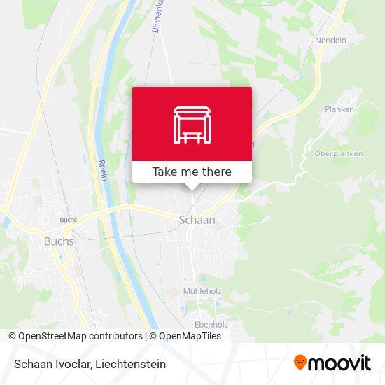 Schaan Ivoclar map
