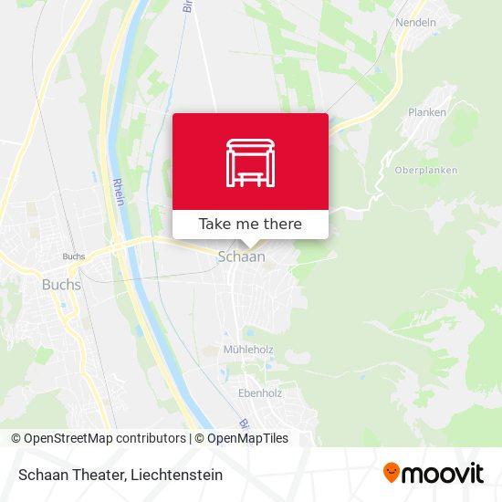 Schaan Theater map