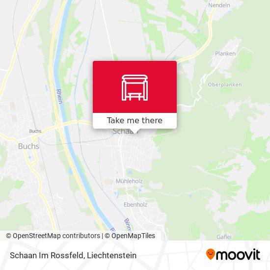Schaan Im Rossfeld map