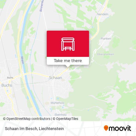 Schaan Im Besch map