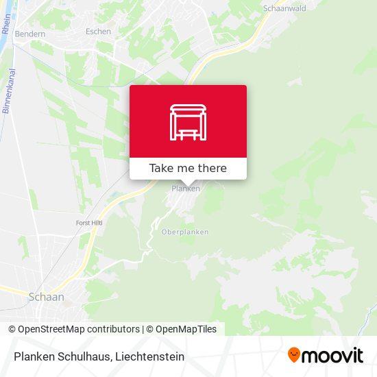 Planken Schulhaus map