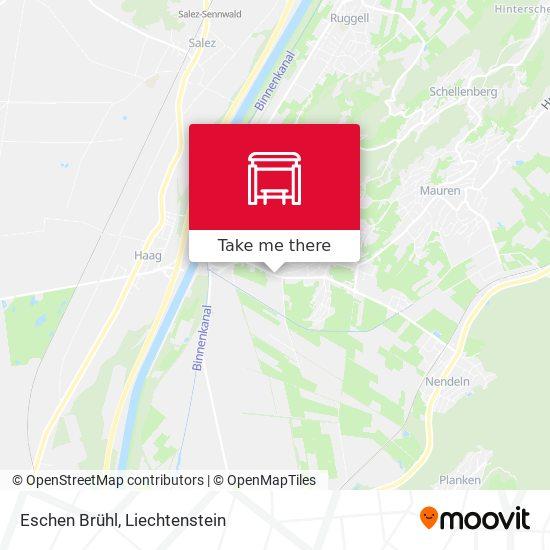 Eschen Brühl map