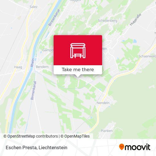 Eschen Presta map