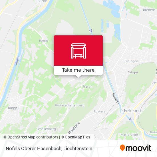 Nofels Oberer Hasenbach map