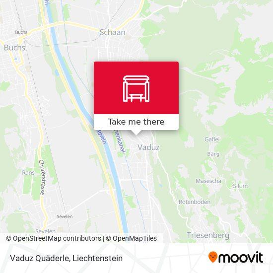 Vaduz Quäderle map