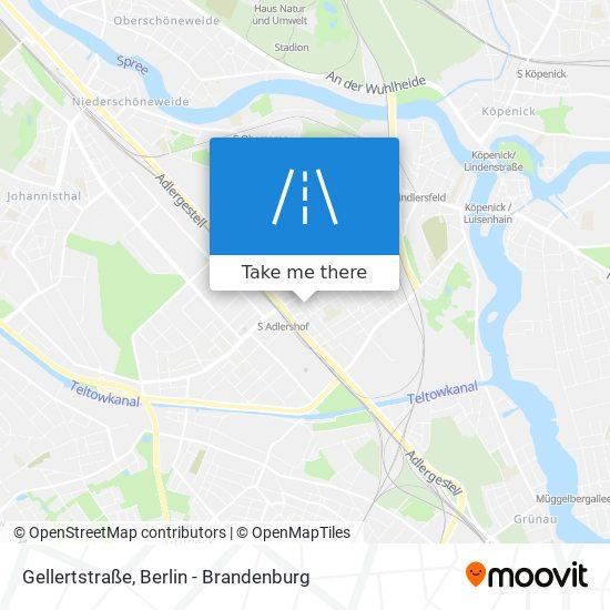 Gellertstraße map