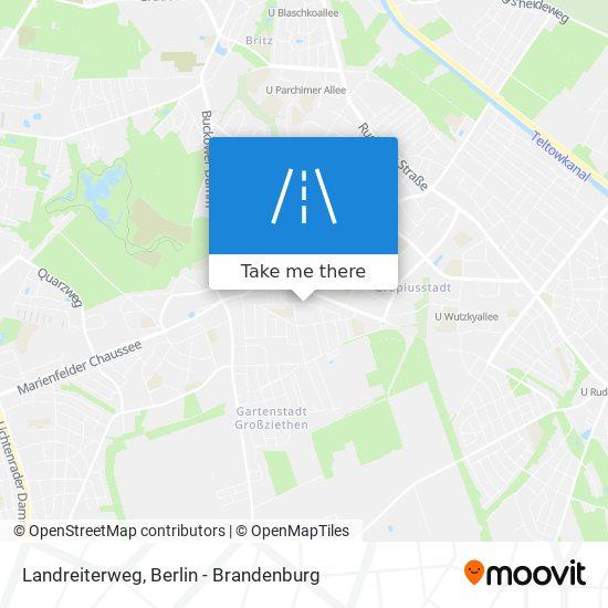 Landreiterweg map