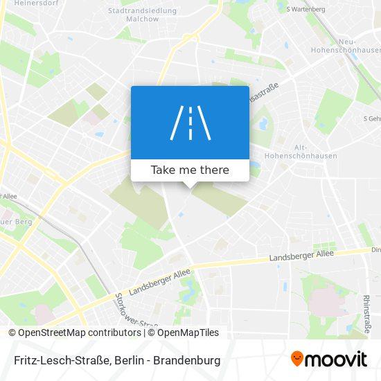Fritz-Lesch-Straße map