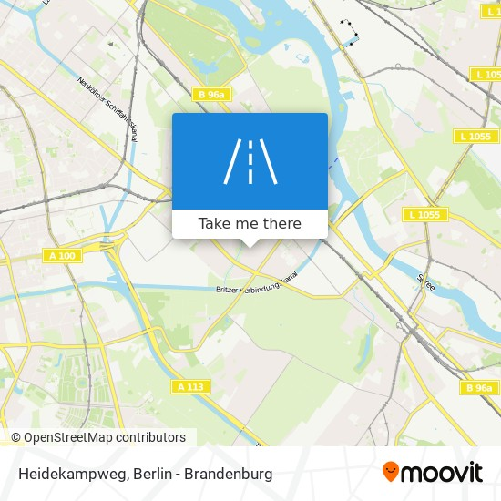 Heidekampweg map