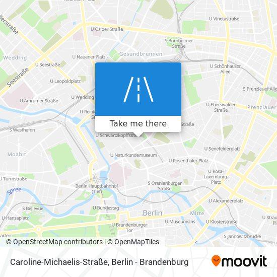Caroline-Michaelis-Straße map