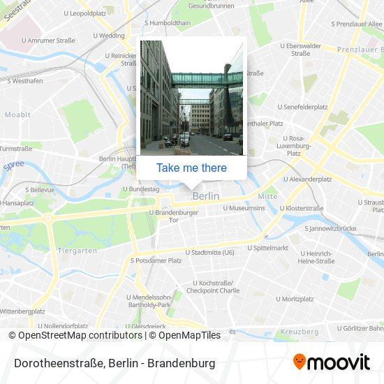 Dorotheenstraße map