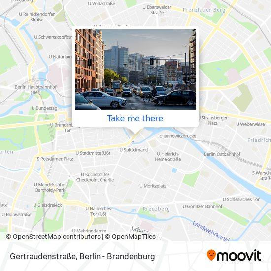 Gertraudenstraße map