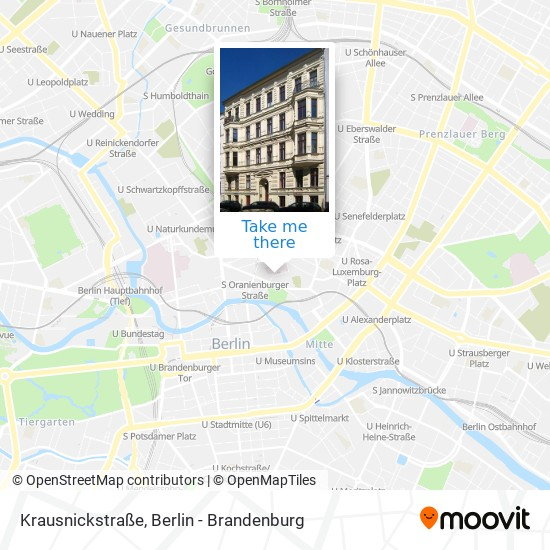 Krausnickstraße map