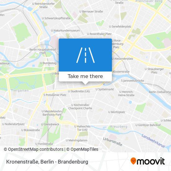 Kronenstraße map