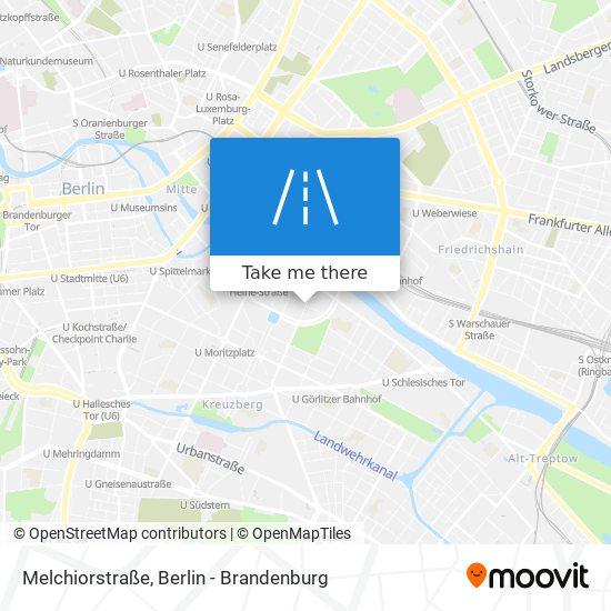 Melchiorstraße map