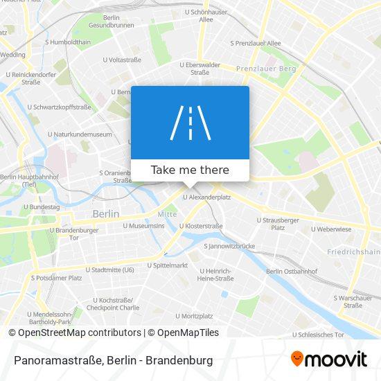 Panoramastraße map