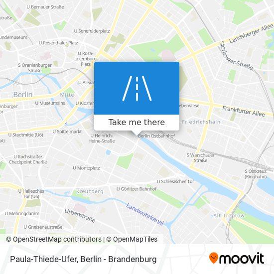 Paula-Thiede-Ufer map