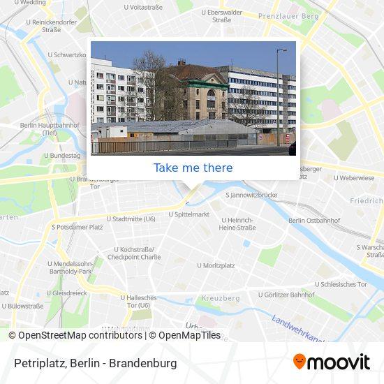 Petriplatz map