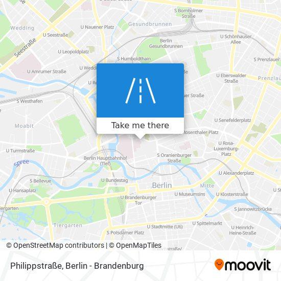 Philippstraße map